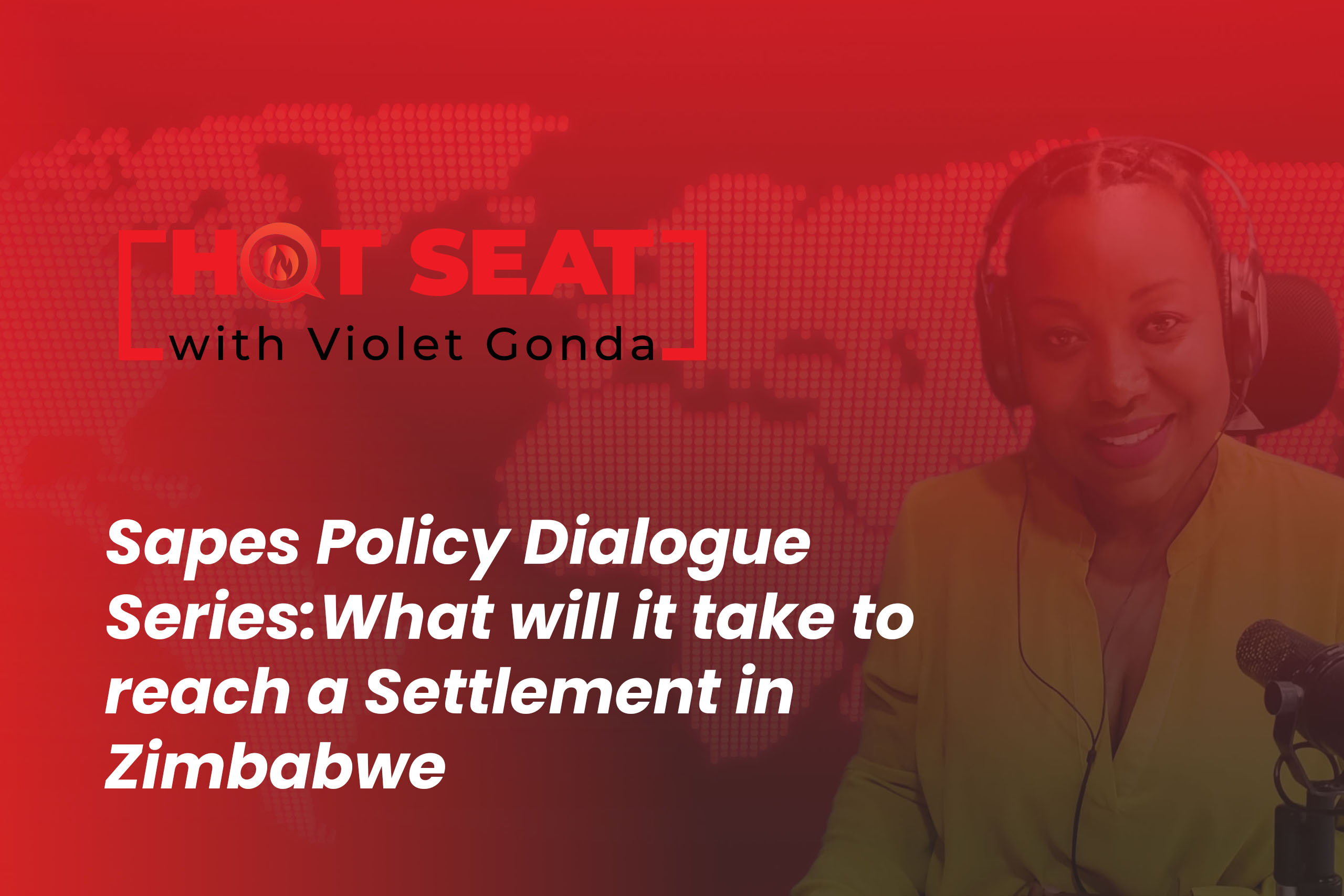 """""""Zimbabwe's Deepening Crisis and we are looking for the way forward"""": Today's theme is: What will it take to reach a Settlement in Zimbabwe? The fundamental questions we will be asking are: Is the Zimbabwean crisis sufficient that it requires international pressure? What should we expect from the regional and International community?"""